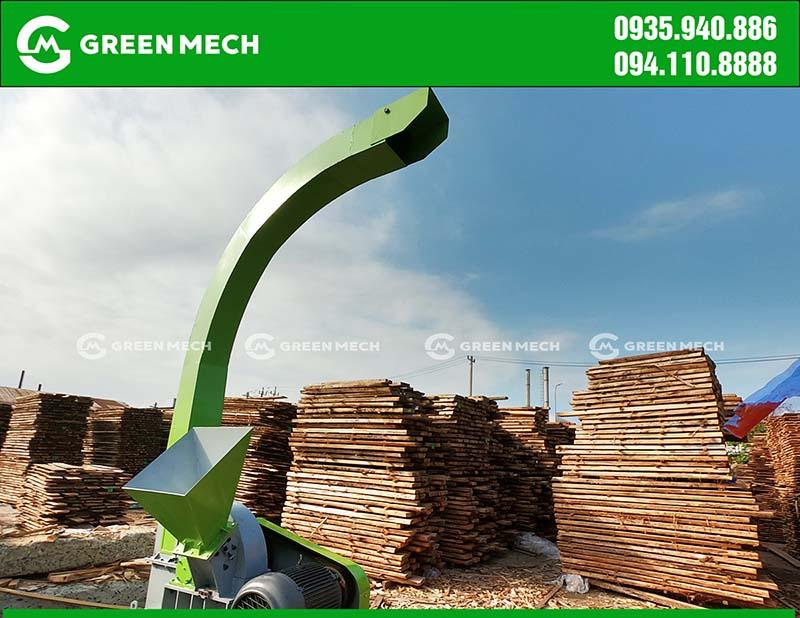 Máy băm dăm gỗ 3 tấn tại Đà Nẵng