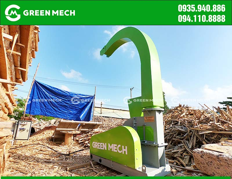 Máy băm gỗ 3 tấn tại Đà Nẵng