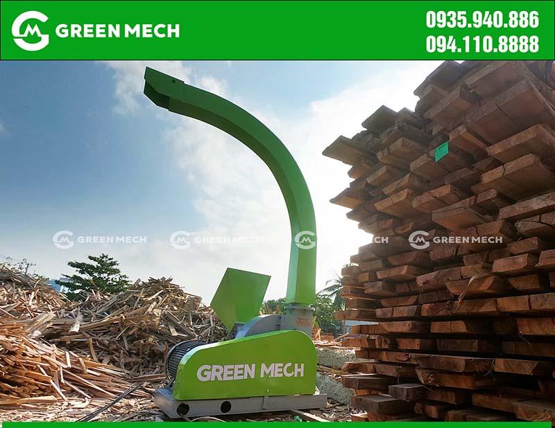 Máy băm gỗ thành dăm