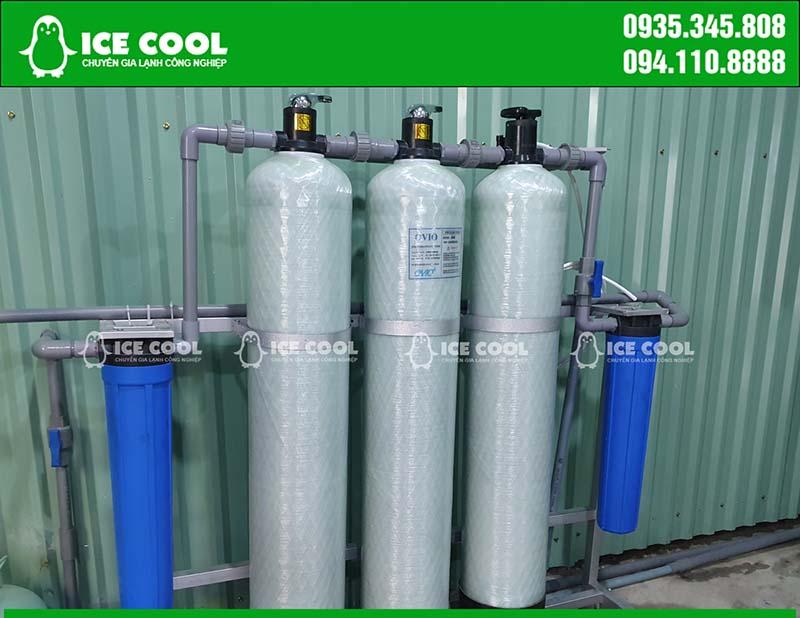 Bộ lọc nước máy làm đá viên