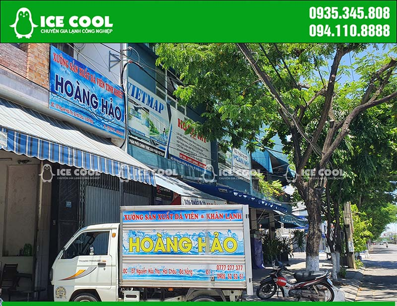 Nhà máy sản xuất đá viên tinh khiết tại Đà Nẵng