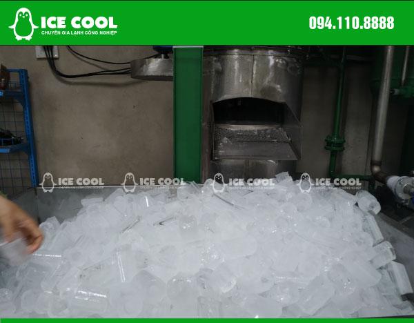 Đá viên từ máy đá viên tinh khiết 3 tấn Quang Thanh Huế