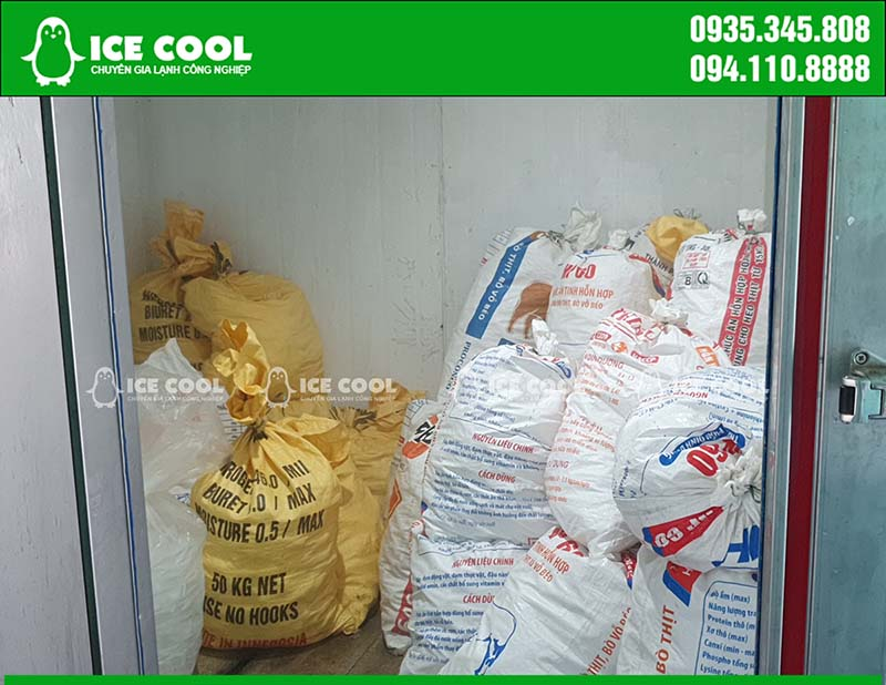Kho lạnh bảo quản đá viên tinh khiết