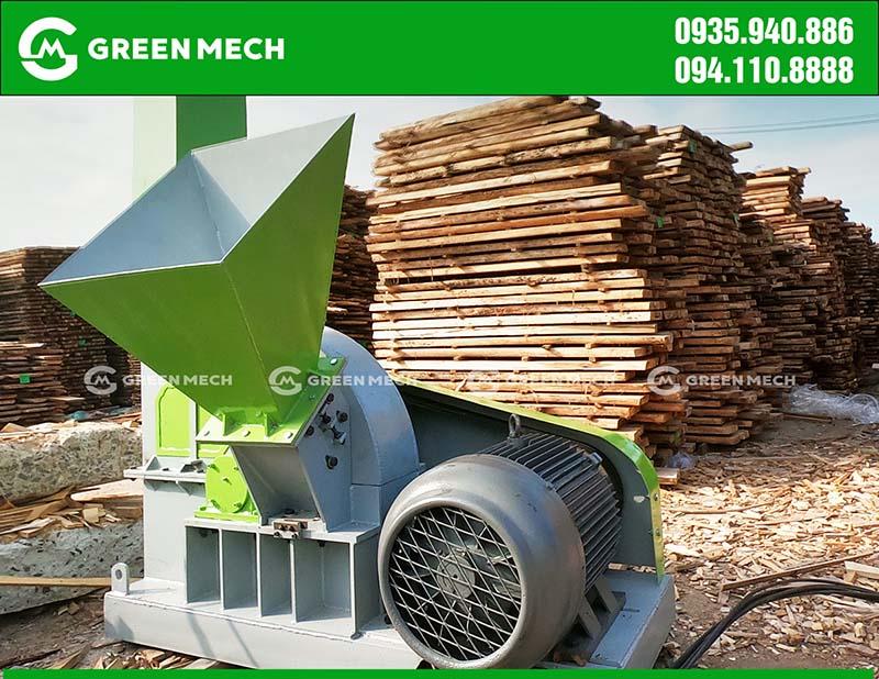 Lắp đặt máy băm dăm gỗ tại Đà Nẵng