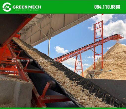 Nhà máy băm dăm gỗ Green Mech chất lượng cao