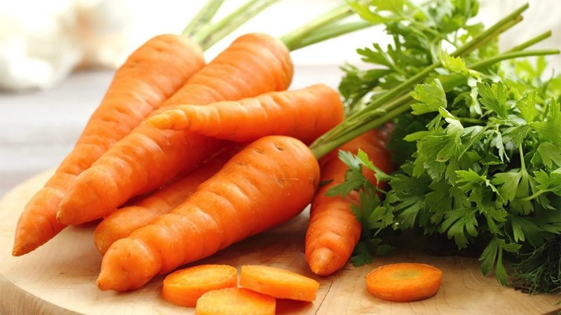 Cà rốt giàu chất dinh dưỡng