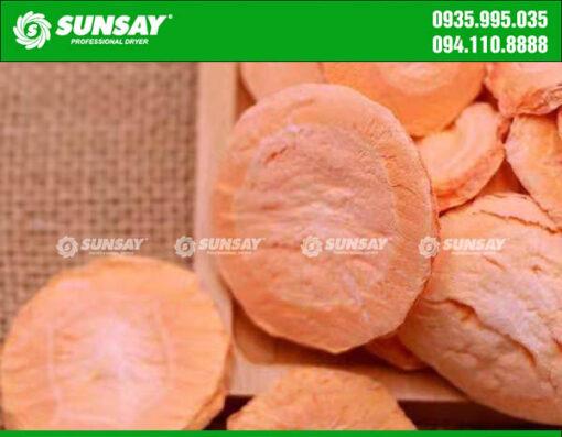Cà rốt sấy thăng hoa SUNSAY