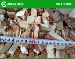 Dăm gỗ từ máy băm gỗ GREEN MECH