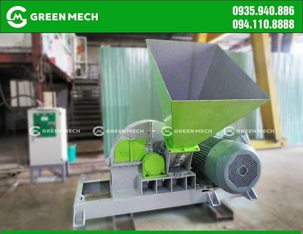 Máy băm gỗ 5 tấn GREEN MECH hiệu suất cao