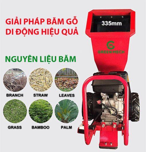 Nguyên liệu máy băm gỗ mini