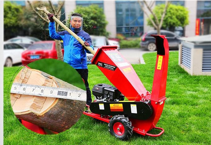Máy băm gỗ mini di động GREEN MECH