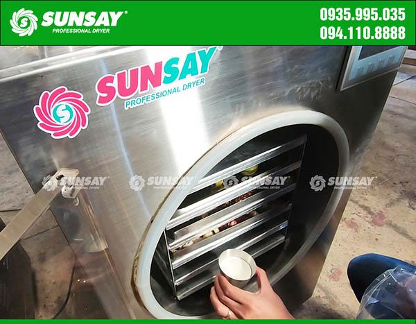 Máy sấy sữa chua thăng hoa SUNSAY