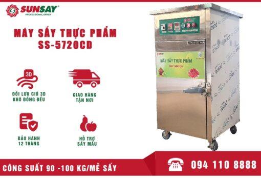 Máy sấy thực phẩm 100 kg