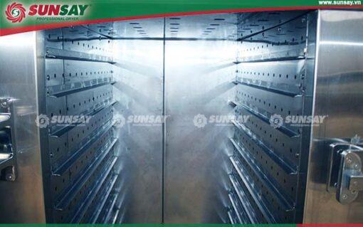 Máy sấy thực phẩm 150 kg 30 khay