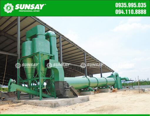 Máy sấy thùng quay công nghiệp