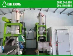 Nhà máy làm đá viên ICE COOL