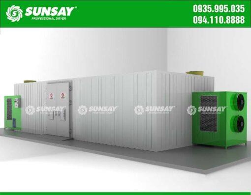 Thiết kế máy sấy bơm nhiệt SUNSYA