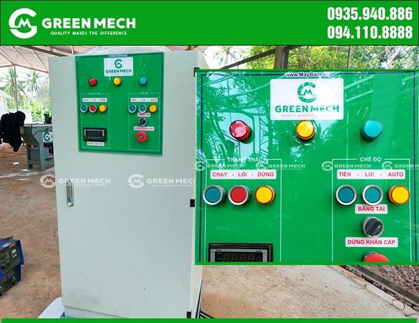 Tủ điện máy băm gỗ GREEN MECH Việt Nam
