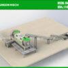 Thiết kế máy ép nước công nghiệp