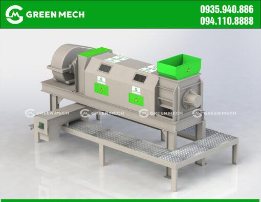 Thiết kế máy ép nước mùn dừa