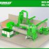 Thiết kế máy sấy mùn cưa theo công nghệ thùng quay