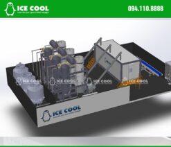 Thiết kế nhà máy làm đá viên công nghiệp